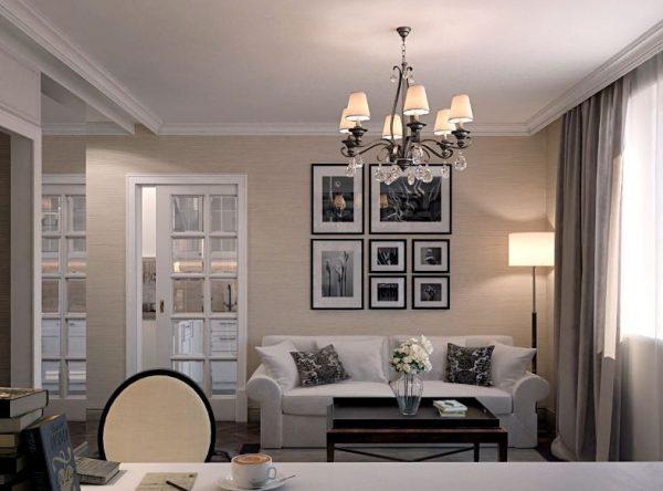 Рекомендации по выбору люстры для гостиной