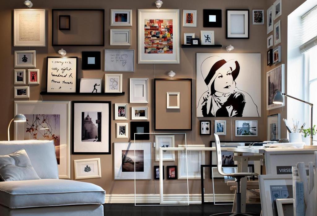 Идеи по размещению постеров в каждой комнате вашей квартиры