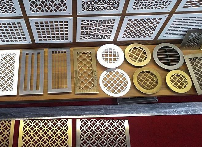 Из чего изготовляются декоративные вентиляционные решетки