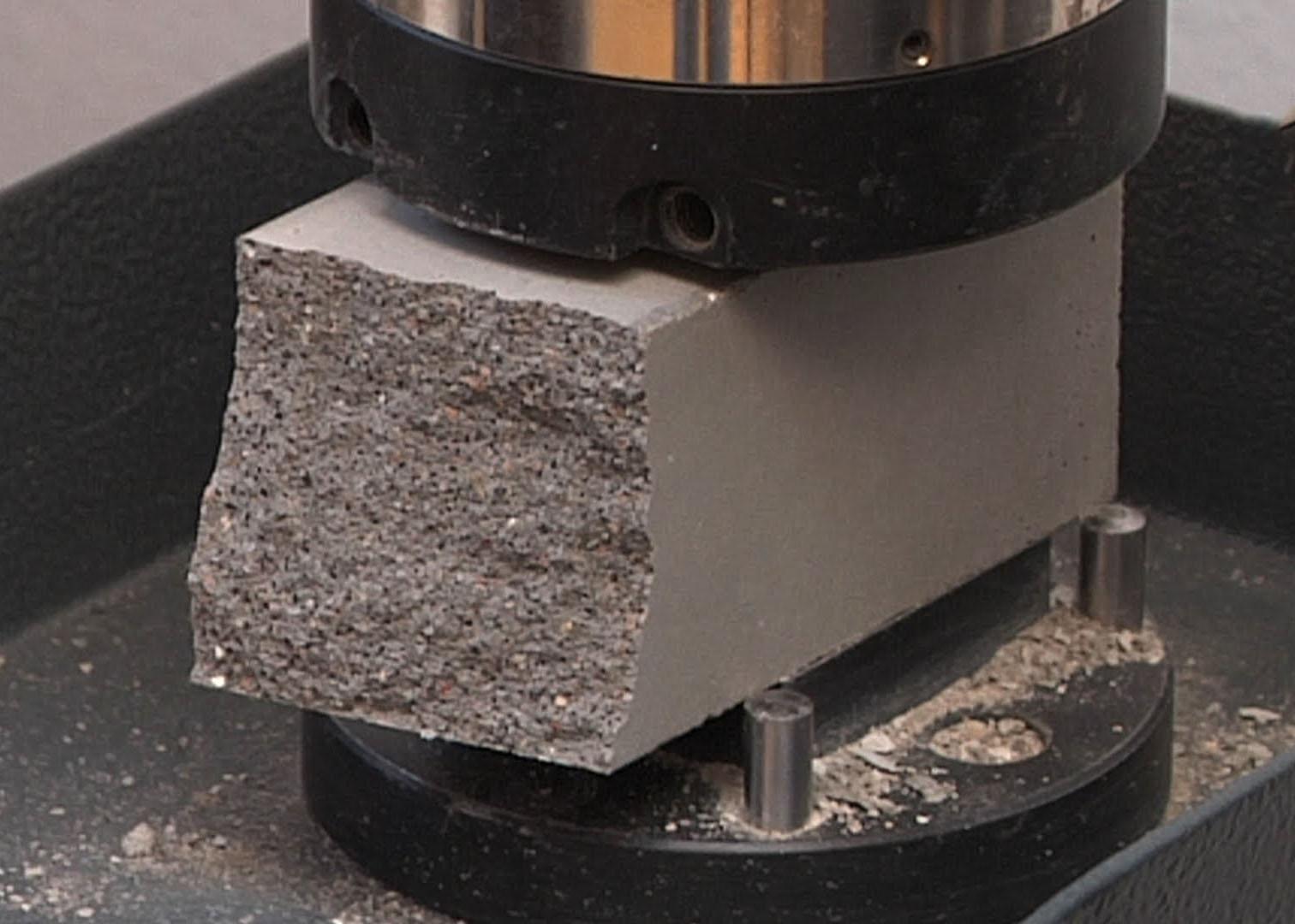 Прочность бетона на сжатие