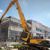 Основные способы демонтажа зданий