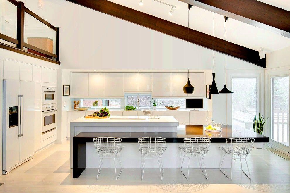 Основные особенности встроенных кухонь