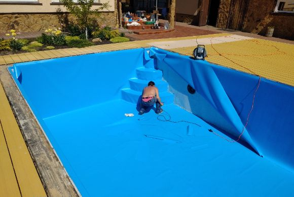 ПВХ пленка для бассейна