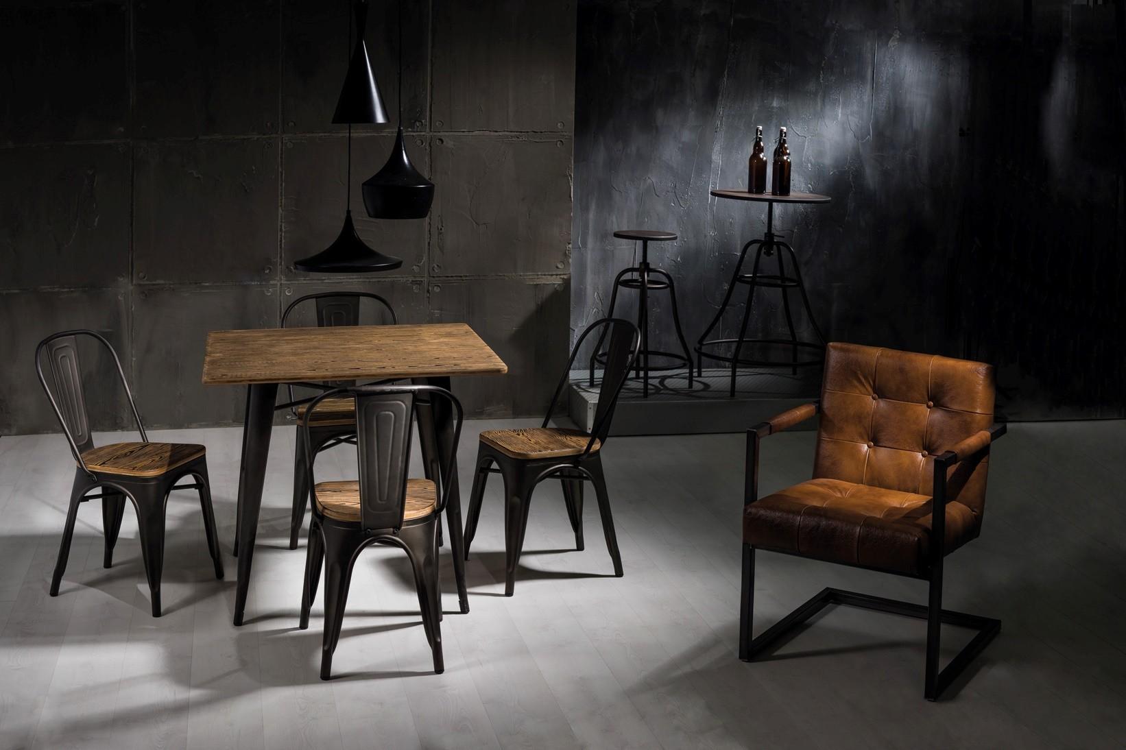 Традиционные стулья в стиле лофт: особенности и рекомендации по выбору