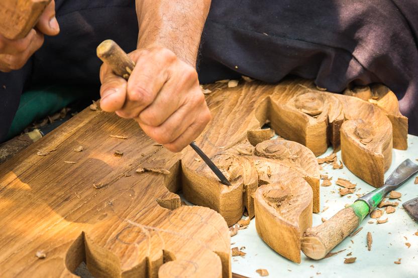 Пошаговый мастер-класс резьбы по дереву для начинающих