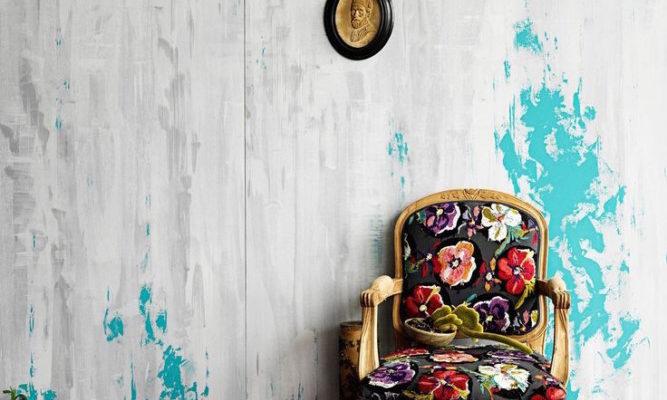 Стилевые особенности оформления интерьера элементами с вышивкой