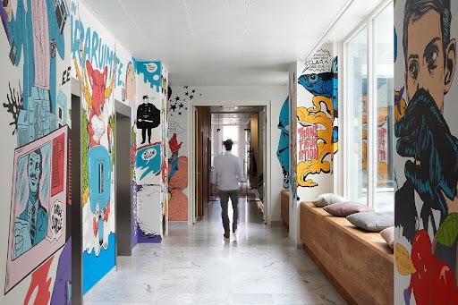 Интерьерная роспись стен