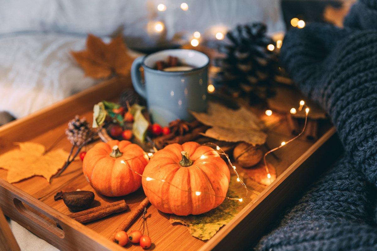 Осенний декор квартиры